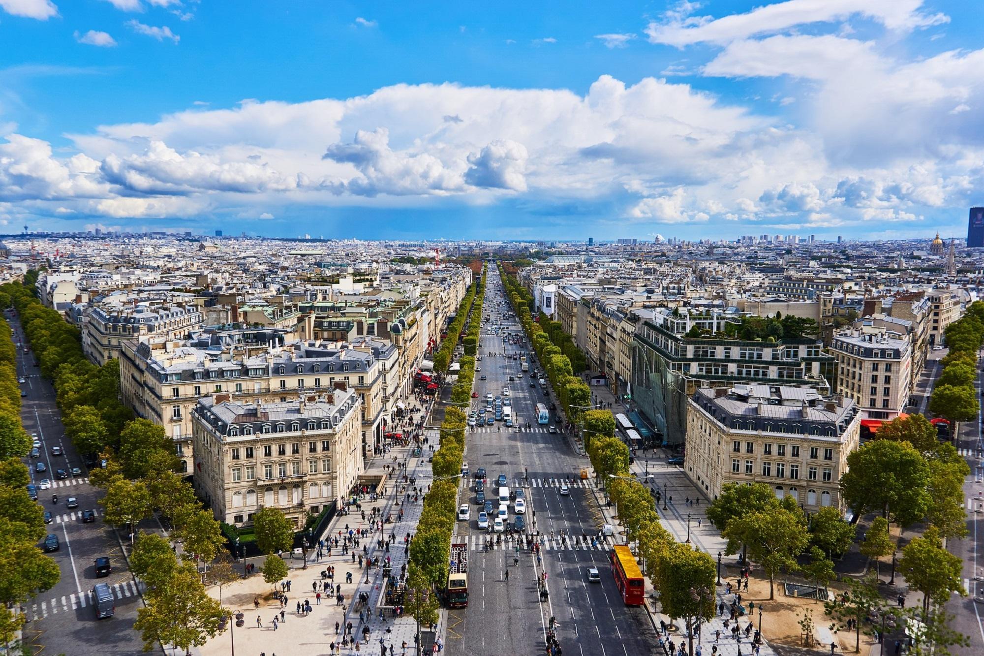 Zabytkowy Paryż